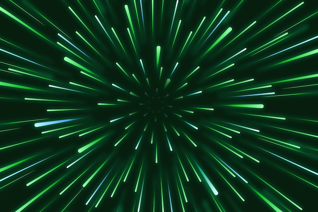 Fundo das luzes de velocidade Vetor Premium
