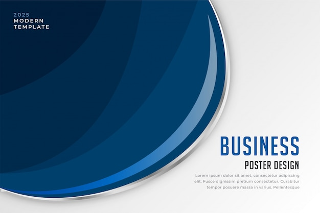 Fundo de apresentação de negócios modernos Vetor grátis