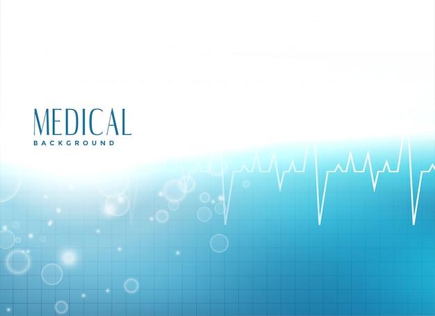 Fundo de apresentação médica Vetor grátis