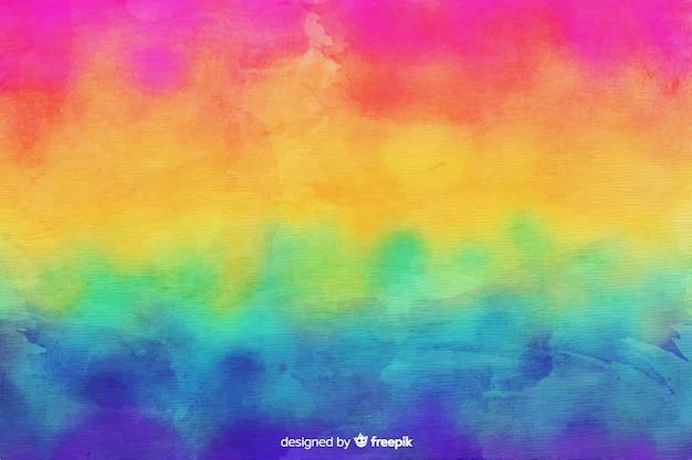 Fundo de arco-íris estilo tie-dye Vetor Premium