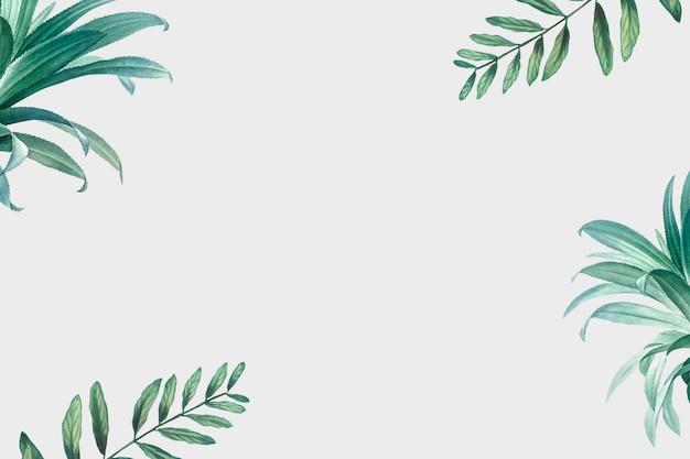 Fundo de árvores de palma Vetor grátis
