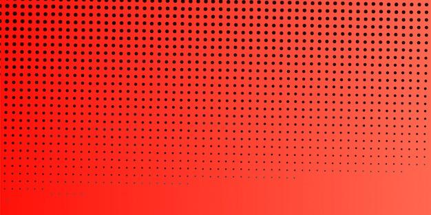 Fundo de banner abstrato laranja meio-tom Vetor Premium