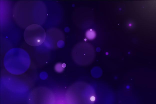 Fundo de brilho embaçado violeta bokeh Vetor grátis