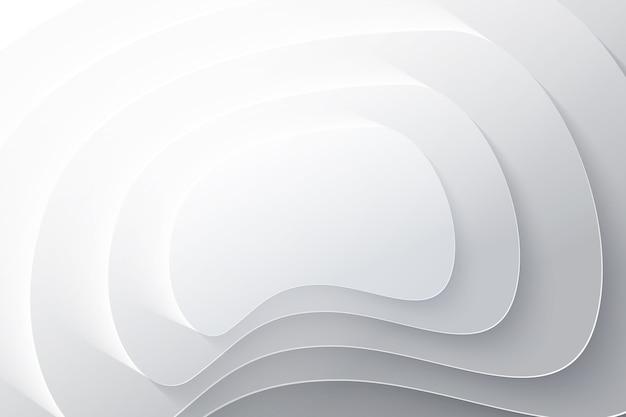 Fundo de camadas de estilo de papel Vetor grátis