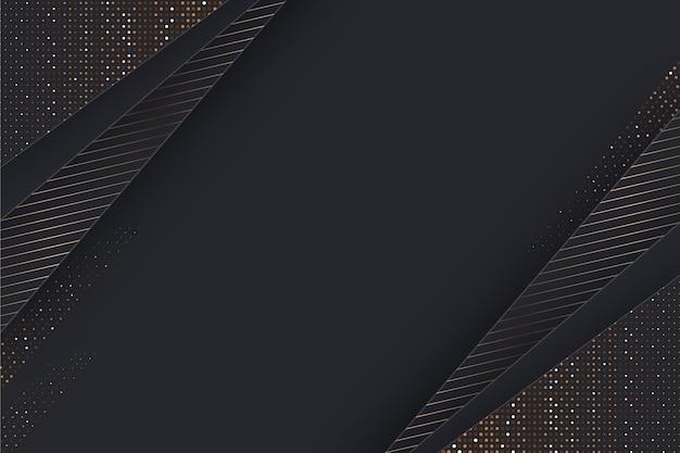Fundo de camadas de papel com detalhes dourados Vetor grátis