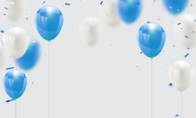 Fundo de celebração Vetor Premium