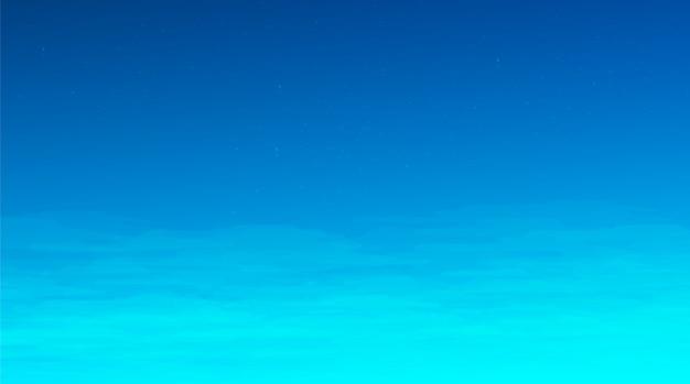 Fundo de céu azul, design de conceito de quadrinhos Vetor Premium