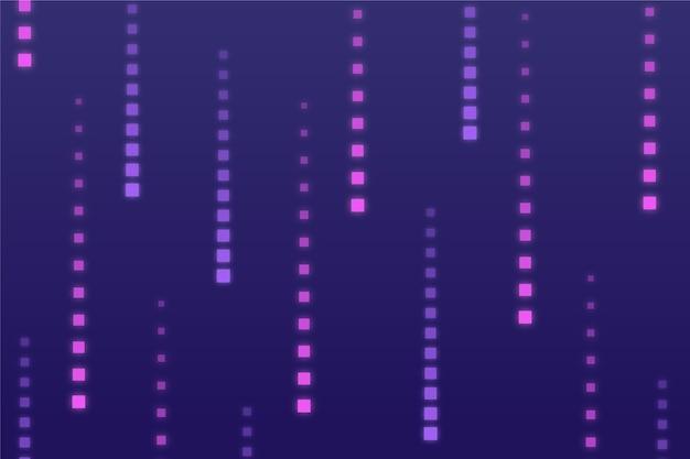 Fundo de chuva abstrata pixel Vetor grátis