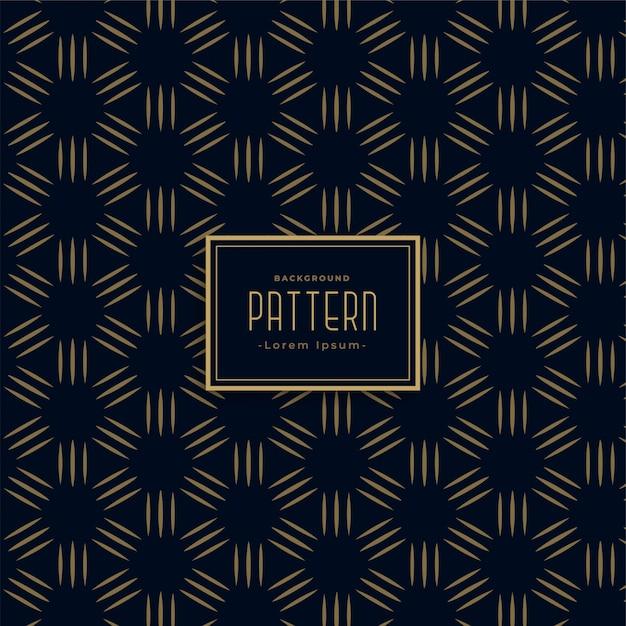 Fundo de design dourado escuro padrão Vetor grátis