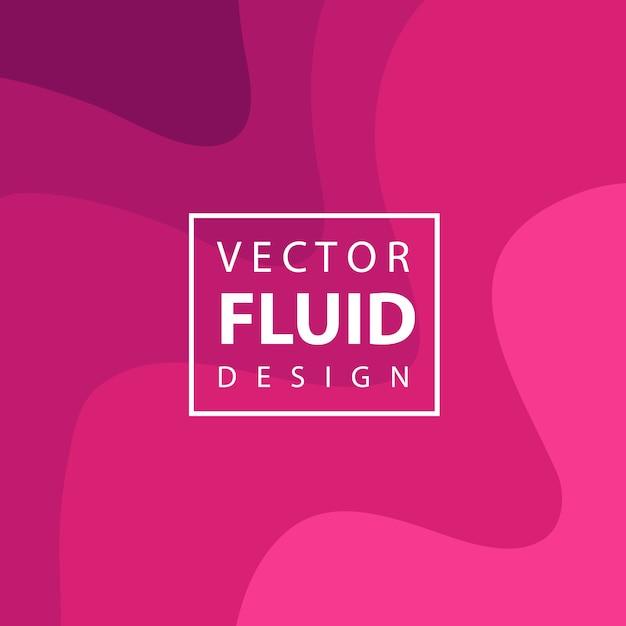 Fundo de design fluido vector colorido Vetor grátis