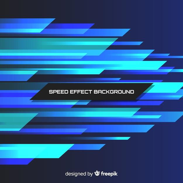 Fundo de efeito de velocidade Vetor grátis