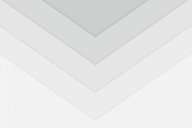 Fundo de estilo de seta branca limpa cubtle Vetor grátis