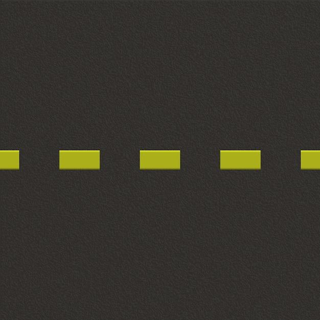 Fundo de estrada com textura de asfalto. Vetor Premium