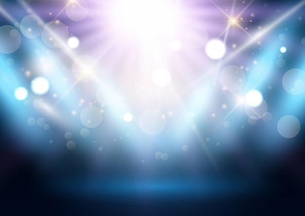 Fundo de exibição do spotlight Vetor grátis