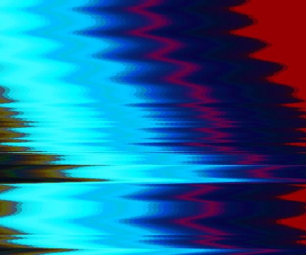 Fundo de falha. distorção de dados de imagem digital. fundo abstrato colorido. estética do caos de erro de sinal. decadência digital. Vetor grátis