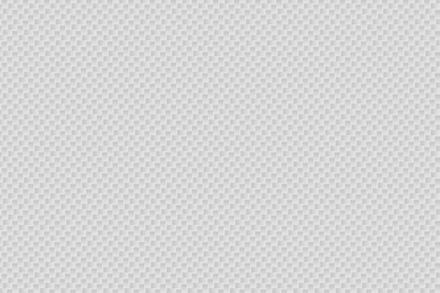 Fundo de fibra de carbono branco abstrato de vetor Vetor Premium