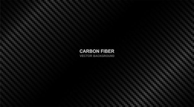 Fundo de fibra de carbono Vetor Premium