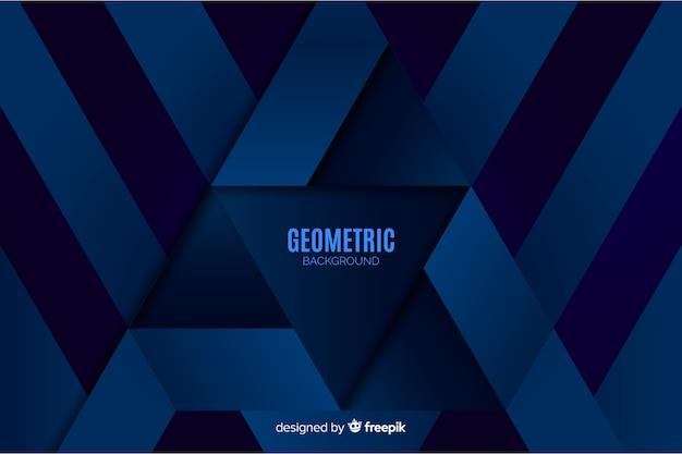 Fundo de formas geométricas gradiente Vetor grátis