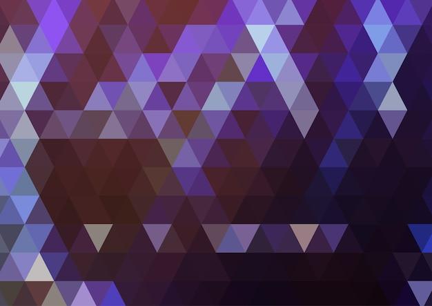 Fundo de formas geométricas Vetor Premium
