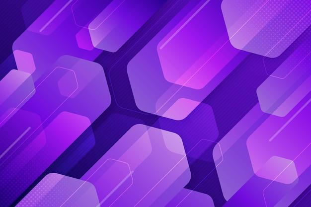 Fundo de formas sobrepostas violeta Vetor grátis
