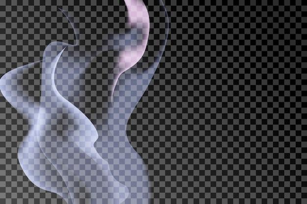 Fundo de fumaça cinza Vetor grátis