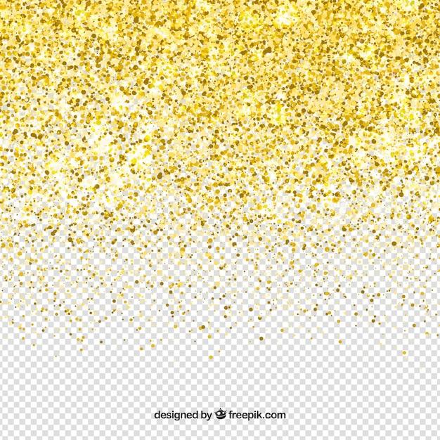 Fundo de glitter transparente Vetor grátis