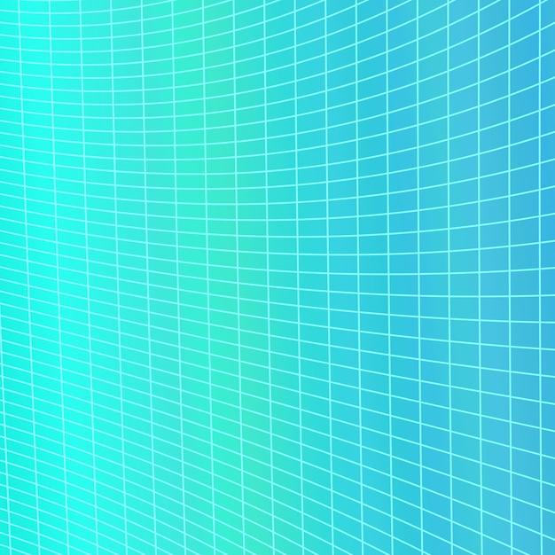 Fundo de grade geométrica abstrata dinâmica - gráfico vetorial da grade listrada angular curvada Vetor grátis