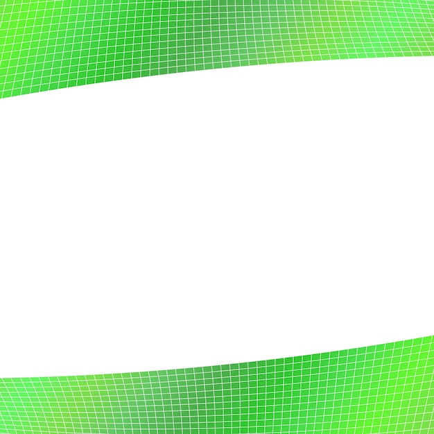 Fundo de grade geométrica verde - design a partir de listras angulares curvas Vetor grátis