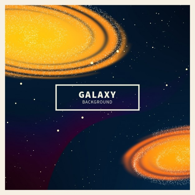 Fundo de incandescência do galaxy Vetor grátis