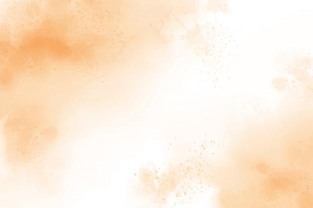 Fundo de lavagem de respingo aquarela marrom claro Vetor Premium