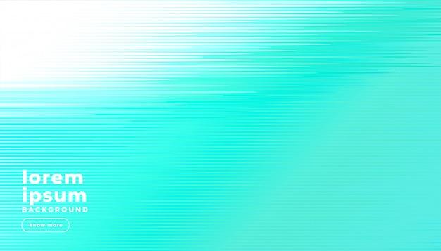 Fundo de linhas abstratas turquesa brilhante Vetor grátis