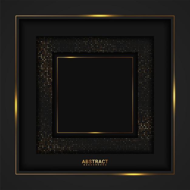 Fundo de luxo abstrato. Vetor Premium