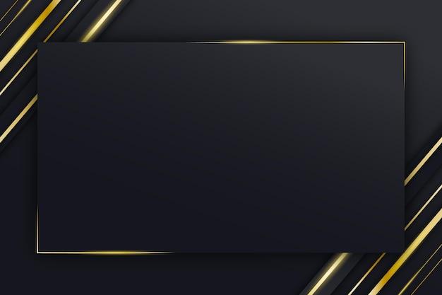 Fundo de luxo de ouro Vetor Premium