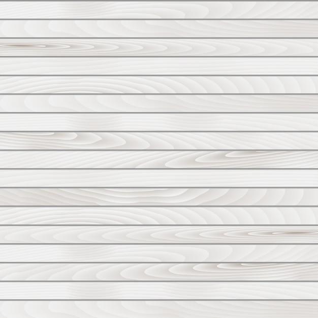 Fundo de madeira branca Vetor grátis