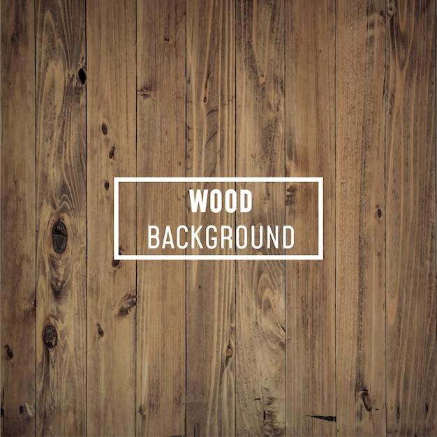 Fundo de madeira natural. Vetor Premium