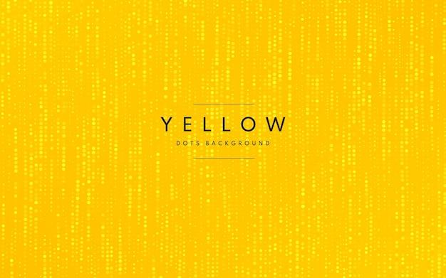 Fundo de meio-tom amarelo mínimo abstrato. Vetor Premium