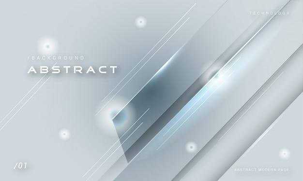 Fundo de metal sólido monocromático elegante Vetor Premium