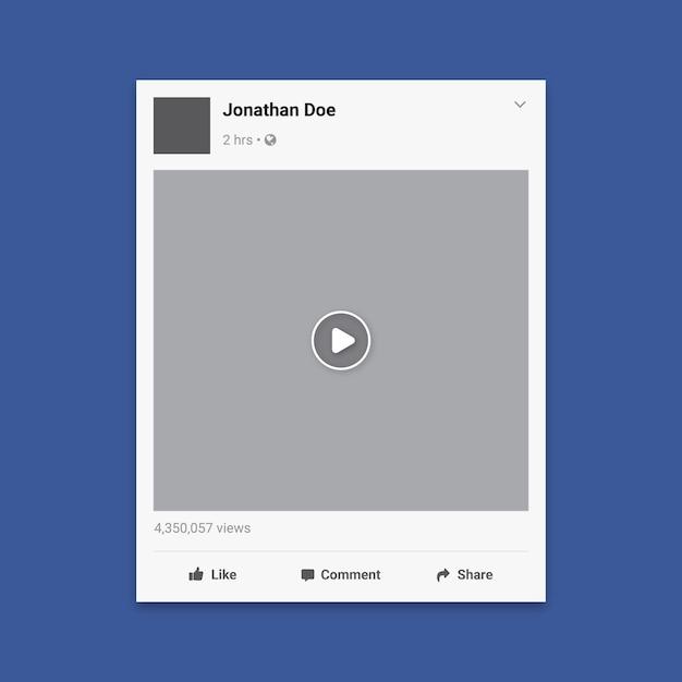 Fundo de mídia de postagem de mídia social Vetor Premium