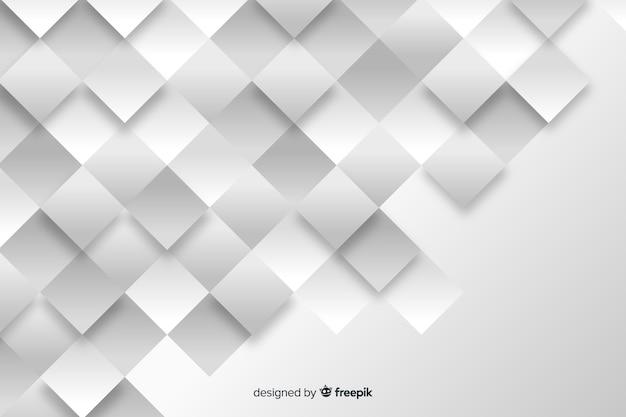 Fundo de modelos geométricos em estilo de jornal Vetor grátis