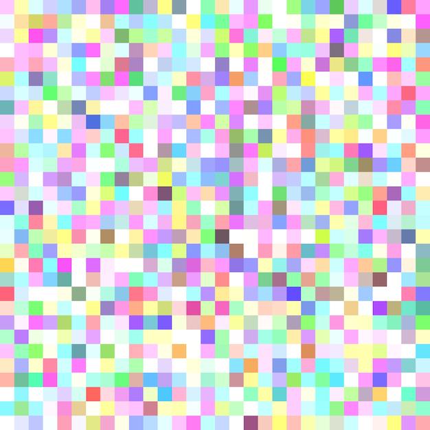 fundo de mosaico em mosaico quadrado de pixel desenho gráfico