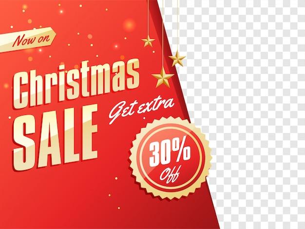 Fundo de natal feliz. Vetor Premium