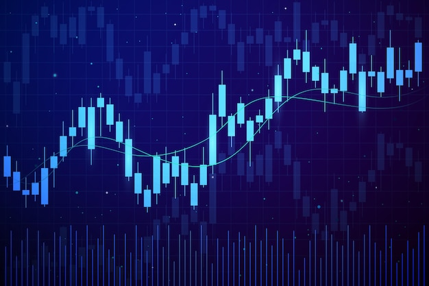 Fundo de negociação forex Vetor Premium