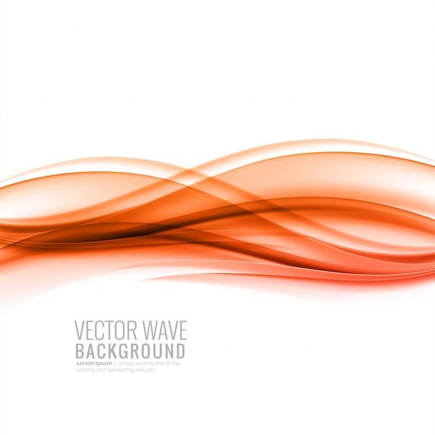 Fundo de onda de negócios suave colorido abstrato Vetor grátis