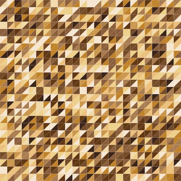 Fundo de padrão de faixa de cor de ouro pixelizada Vetor Premium