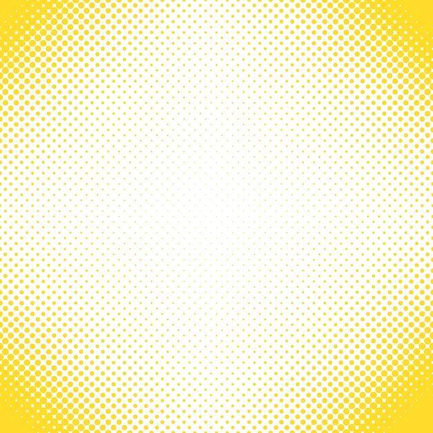 Fundo de padrões de pontos de meio-tom geométrico - design vetorial de círculos em tamanhos variados Vetor grátis