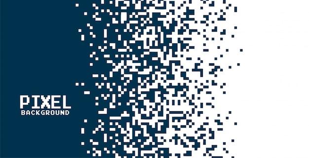 Fundo de pixel moderno em estilo de efeito gradiente Vetor grátis