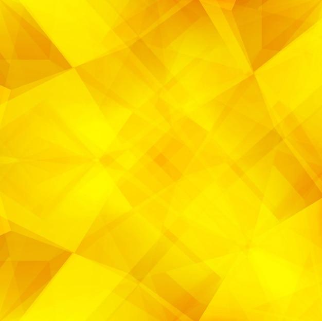 Fundo de polígono amarelo brilhante | Baixar vetores grátis