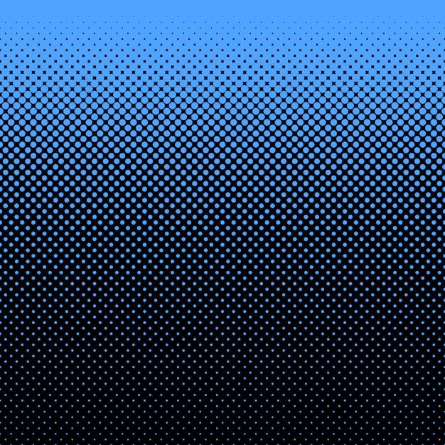 Fundo de pontos azuis e pretos Vetor grátis