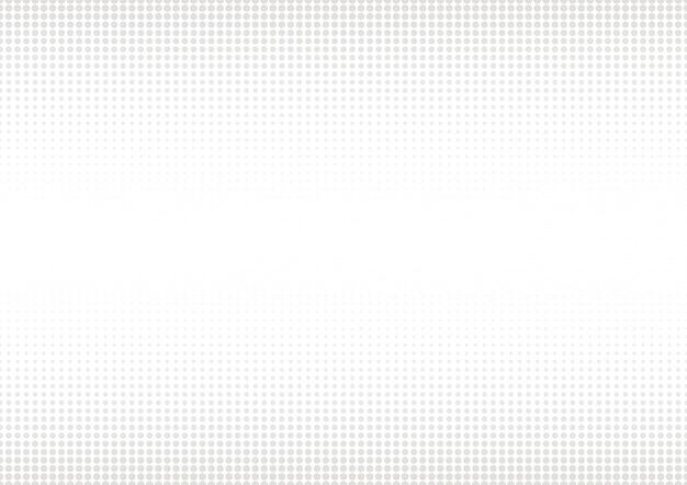 Fundo de pontos cinza de meio-tom. Vetor Premium