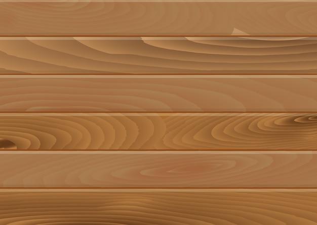 Fundo de pranchas de madeira Vetor Premium